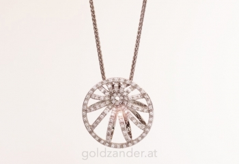 bellaluce, brillanten, gold, collier, kette