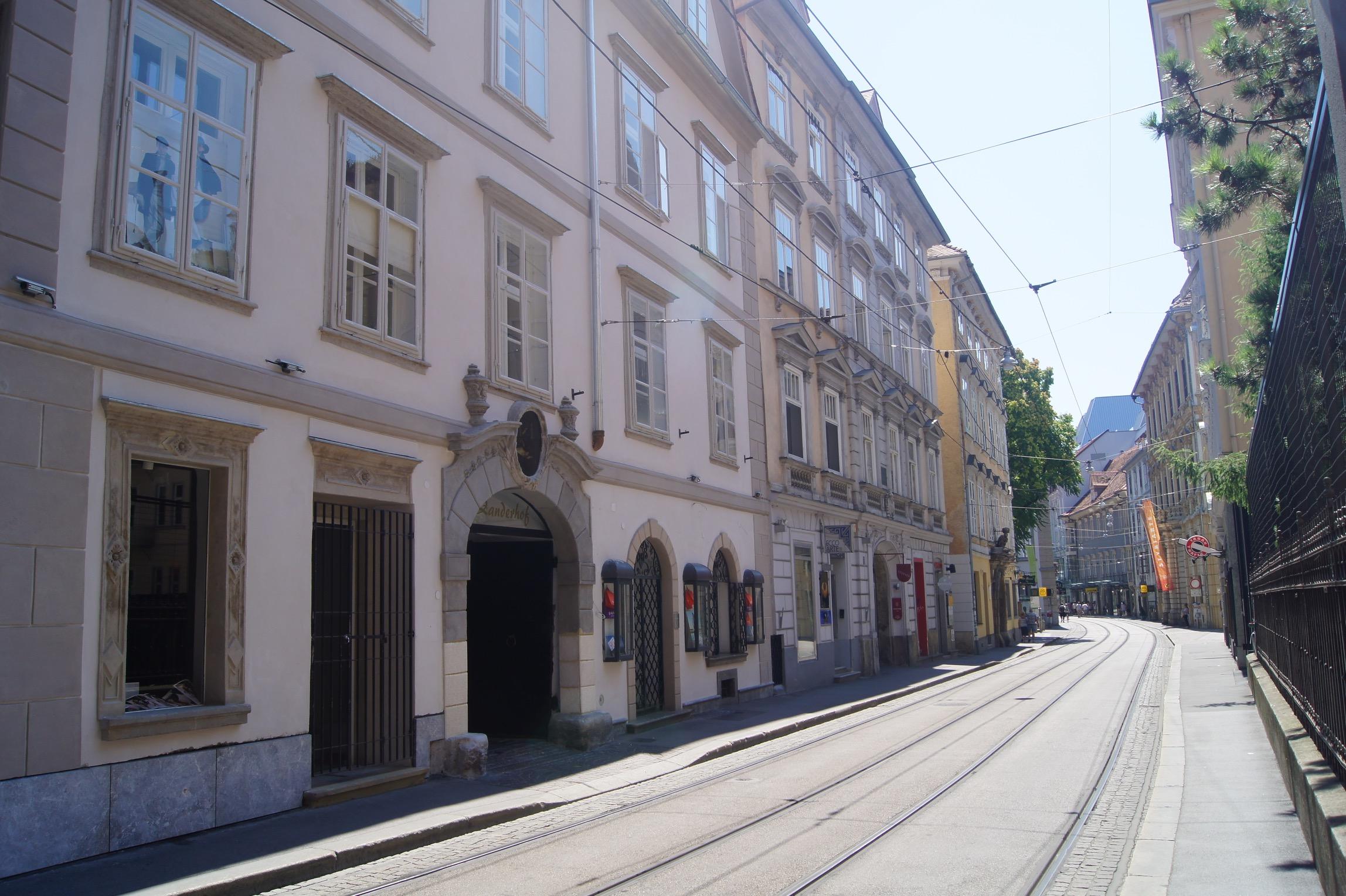 Sackstraße 26, Zanderhof